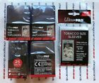 100 Ultra Pro Tobacco Card Toploaders & 100 Sleeves (NOT for Regular Size Card)