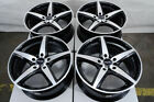17x75 Black Wheels Fits Kia Forte Optima Stinger Soul Soul Sentry Camry Rims