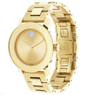 Movado 3600104 Women's Swiss Bold Medium Gold Ion-Plated Stainless Steel Watch