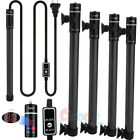 2x 100 300 500W LED Aquarium Submersible Water Heater Heating Rod Fish Tank 110V
