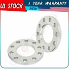 2 5x55 1 2 studs silver 2 pcs wheel spacers for Jeep Wrangler Grand Cherokee