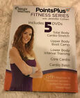 Weight Watchers Points Plus Fitness Series with Jennifer Cohen 5 DVD Set Sealed