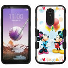 for LG Stylo 5 Armor Impact Hybrid Cover Case Mickey Minnie Mouse Balloon