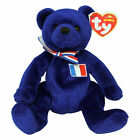 Ty Beanie Baby Mascotte - MWMT (Bear Europe Country Exclusive 2006)