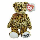 Ty Beanie Baby Leopold - MWMT (Bear Rainforest Caf? Exclusive)