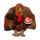 Ty Beanie Baby Feastings BBOM - MWMT (Turkey BBOM 2007 Thanksgiving)