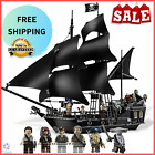 New Lego Comp 4184 Disney Pirates Of The Caribbean Black Pearl Ship Jack Sparrow