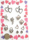 NEW 12 TIBET SILVER VARIOUS VALENTINE CHARMS PENDANTS WOW