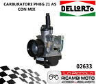 Minarelli AM6 Beta RR Enduro Motard 50 - 02633 Carburetor Dellorto Phbg 21 Cs