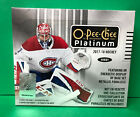2017-18 UPPER DECK O-PEE-CHEE PLATINUM HOCKEY SEALED HOBBY BOX