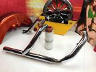 95 08 OEM Harley Touring Exhaust Duals Header Pipes  Heat Shields