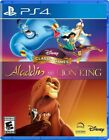 PLAYSTATION 4 DISNEY CLASSIC GAMES ALADDIN AND LION KING BRAND NEW PS4 GAME