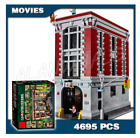 NEW Ghostbusters Firehouse Headquarters Compatible 75827 Building Blocks