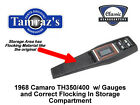 1968 Camaro TH350 400 Trans Center Console Kit w Gauges PREASSEMBLED Style