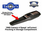 1968 68 Camaro 4 Speed Center Console w Flocking PREASSEMBLED Style New