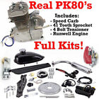 New PK80 Complete 80cc Motorized Bicycle Engine Kit Firestorm Edition US STOCK