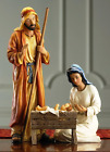 Set of 3 Deluxe Holy Family 12 inch Resin Stone Nativity Figurines