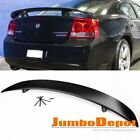 US Fit 06-10 Dodge Charger SXT SRT8 Sedan Rear Trunk Spoiler Wing ABS Unpainted