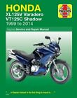 Honda XL125V Varadero & VT125C Shadow Service a, Mather..