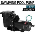 Portable 115 230V 15HP Swimming Spa Pool Pump Motor Strainer InGround Pump
