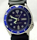 VINTAGE SEIKO DIVER`S AUTOMATIC 17 JEWEL 200M DAY DATE TURNING BEZEL MEN`S WATCH