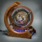 Watch Winder Vintage Hand ManualWorking Automatic Winding WStorage Art Wood Time