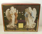 Lenox In BOX First Blessing Nativity The Angels Peace and Hope Set Of 2 MINT