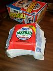 1982 Topps empty box and wrappers