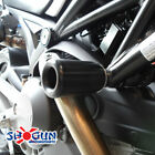 Shogun Ducati Monster 696 796 1100 1100S NO CUT Frame Sliders Black USA MADE!