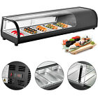 Commercial Sushi Showcase Sushi Cooler Display Case Sushi Bar Showcase Black