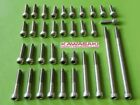 Kawasaki Engine Cover Bolt Stainless Steel Screws Kit z1 kz900 kz1000 kz z1r 900