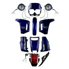ABS Plastic Fairing Cowl Bodywork Set for Honda AX-1 Sports Traverse Blue