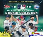 2019 Topps Baseball Stickers MASSIVE Factory Sealed 50 Pack Box-200 Stickers !!