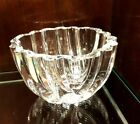 EXQUISITE ORREFORS CRYSTAL CENTERPIECE BOWL SIGNED  NUMBERED BY LARS HELLSTEN