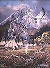 Ted Blaylock Spirit of the Flame Canvas Giclee 18x24