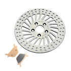 292MM Rear Brake Disc Rotor & Pads for Softail 1340 Bad Fat Boy Springer Custom