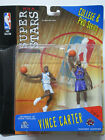 Vince Carter UNC + Toronto Raptors College & Pro Series NBA Superstars