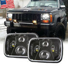 5x7 7x6 110W LED Headlight Hi Low Beam For Jeep Cherokee XJ YJ Toyota Pickup