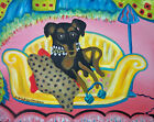 MINIATURE PINSCHER Retro Pop Art Print 8x10 Dog Collectible Vintage Style 80s