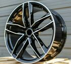 20 Inch Wheels Fits Audi A4 A5 S4 A6 A7 A8 Q5 20x90 +35 5x112 Rims PAIR OF TWO