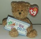 Ty Beanie Baby ~ YOU DID IT the Bear (Greetings Collection)(5.5 Inch) MWMT