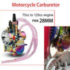 PWK 28mm Motorcycle Carburetor Carb 75cc 125cc Engine For Koso Keihin Scooters