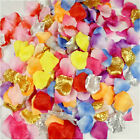 1000 Pcs Simulation Rose Silk Flower Petals Wedding Party Valentines Day USA