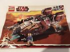 LEGO 7753 - INSTRUCTIONS ONLY PIRATE TANK-  Star Wars manual book from set