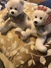 """TY Beanie Baby """"We Do"""" I Do! Bears Excellent Condition"""