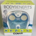 Body Benefits Conair Active Life Waterfall Foot Spa Lights 2016 New In Box E9