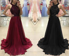 US Women Bridesmaid Prom Ball Gown Formal Evening Party Cocktail Maxi Dress New