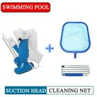 Swimming Pool Vacuum Suction Head + Swimming Pool Net + Universal Pole