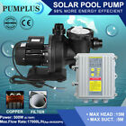 Solar Swimming Pool Pump W Filter Solar Heating Pump W Controller Above Ground