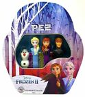 Pez Candy Disney Frozen 2 Gift Tin 4 Dispensers 6 Candy Refills New Sealed
